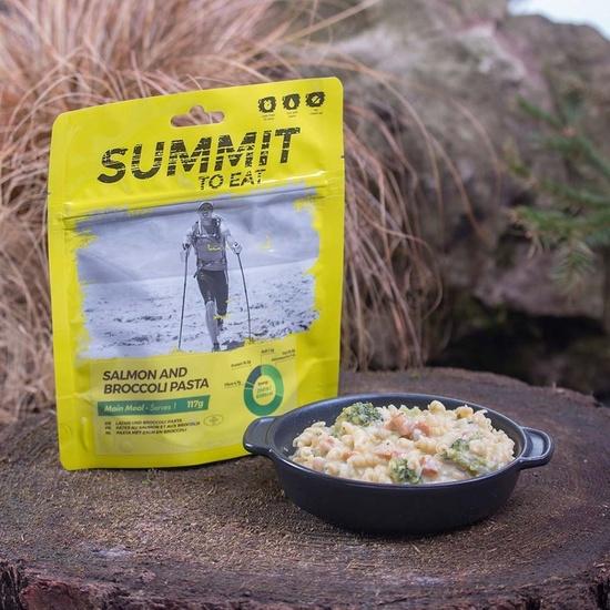 Summit To Eat losos z testenine in brokoli 806100