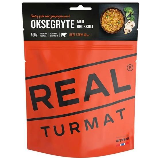 Real Turmat trske z krompir v curry omaka, 85g