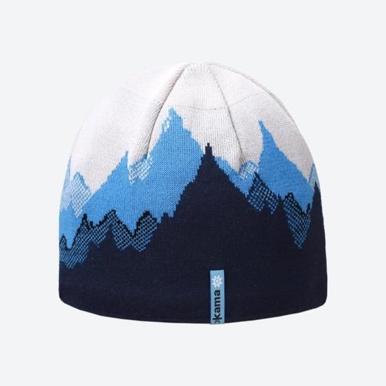 pletene Merino klobuk Kama K64 108 XL