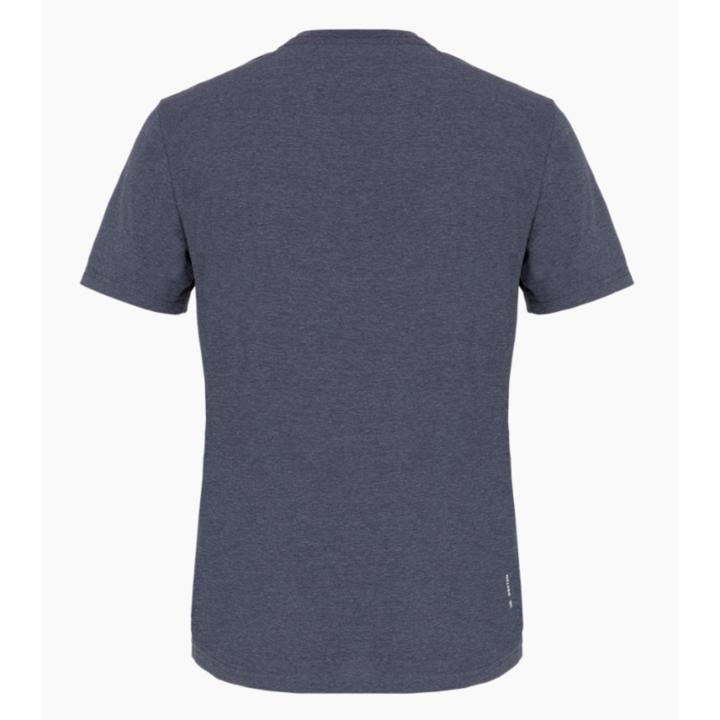 Moška majica Salewa Natisnjeno Polje Posuši premijo mornarica melange 28259-3986
