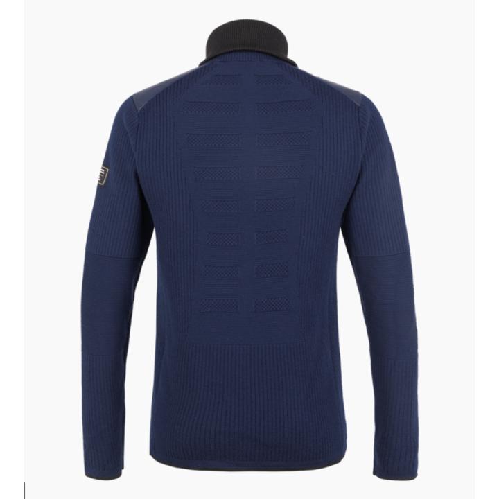 Moška majica Salewa Sella Merino mornarski blazer 28271-3960