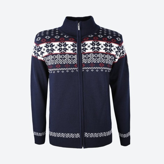Merino pulover Kama 4045 108 blue