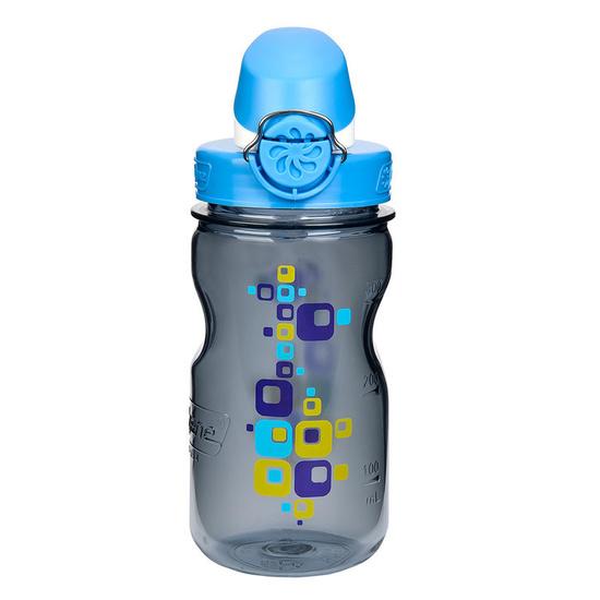 steklenica Nalgene Počisti Kids OTF siva kvadratov 1263-0005