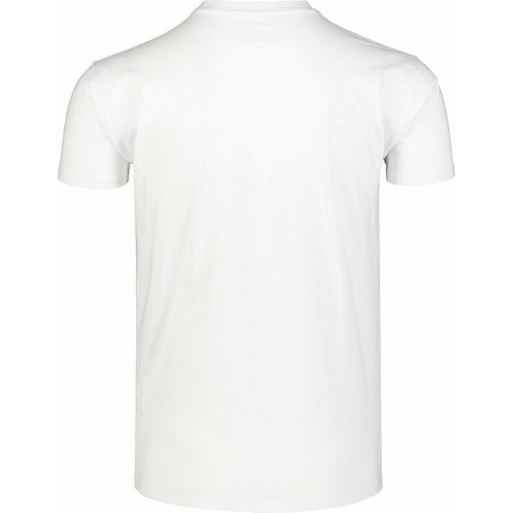 Moška bombažna majica Nordblanc SARMY belo NBSMT7390_BLA