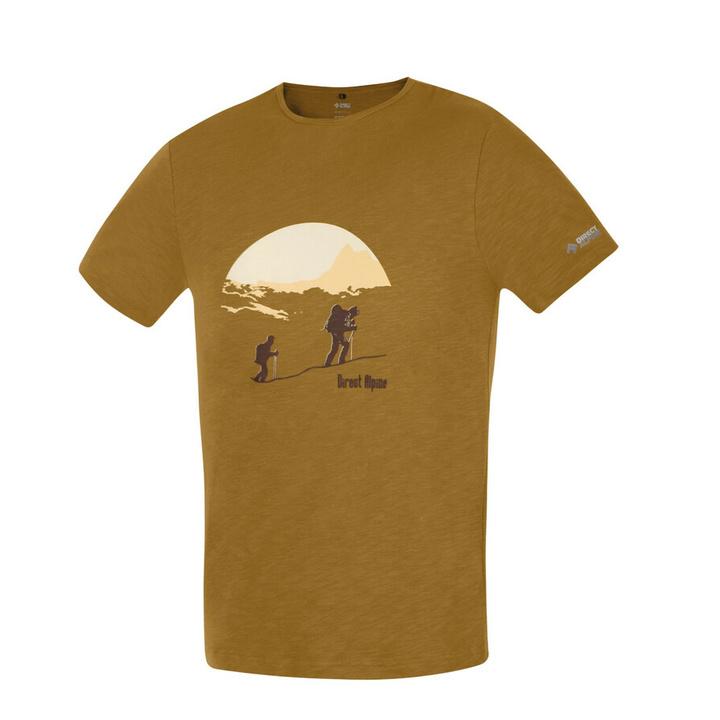 Majica Direct Alpine Bosco caramel (vzpon)