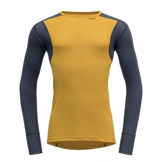 moški majica Devold Pohodništvo Moški shirt Arrowwood / Night GO 245 220 B 058A