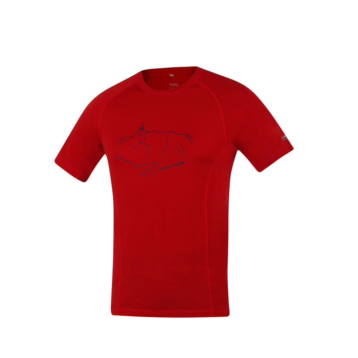 majica funkcishelna Direct Alpine kosmate opeka (vrhunec)