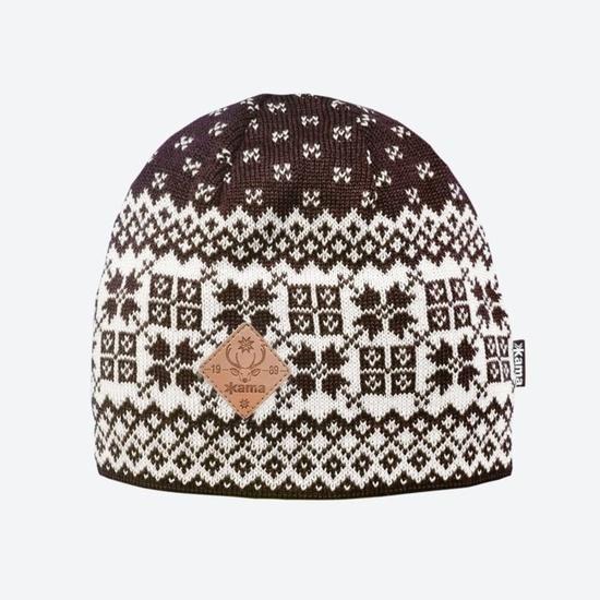pletene Merino klobuk Kama LA40 113