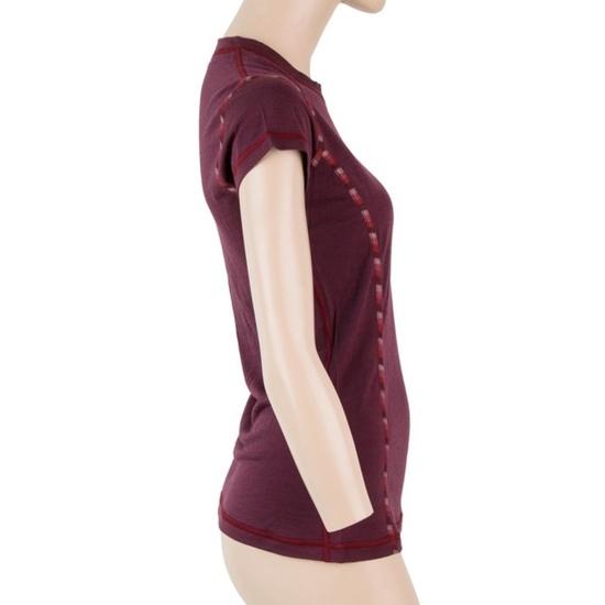 ženske majica Sensor MERINO AIR tm. bordo 18200005