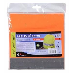 nahrbtnik odsev SOR. oranžna, Safety on Road