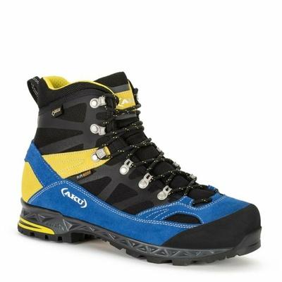 Moški čevlji AKU Trekker Pro GTX črna / modra / rumena