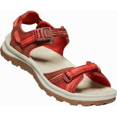 Sandali Keen TERRADORA II Odprti prsti sandale Ženske temno rdeča/koralna, Keen