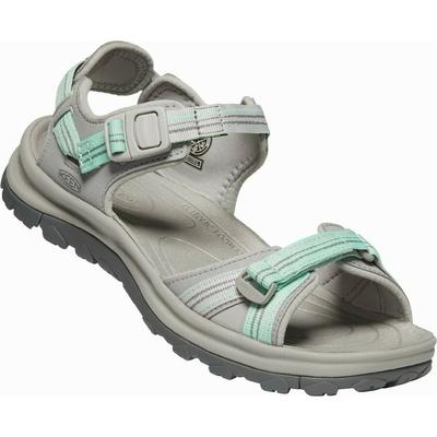 Sandali Keen TERRADORA II Odpri prst na nogi sandale Ženske svetloba siva/oceanska val, Keen