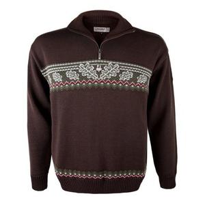 pulover Kama L137 113 rjava, Kama