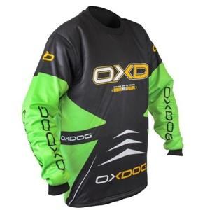 Vratar majica OXDOG PARNI Vratar SHIRT črna / zelena, Exel