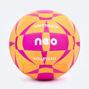 odbojka žoga Spokey NEO SOFT rumeno-roza