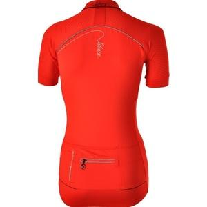ženski kolesarjenje majica Silvini CATIRINA WD1002 rdeča, Silvini