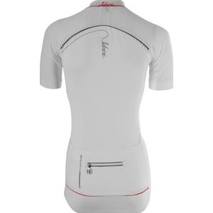 ženski kolesarjenje majica Silvini CATIRINA WD1002 bela-rdeča, Silvini