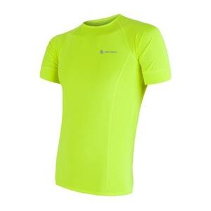 moški majica Sensor Coolmax sveže oranžna refleks 17100004, Sensor