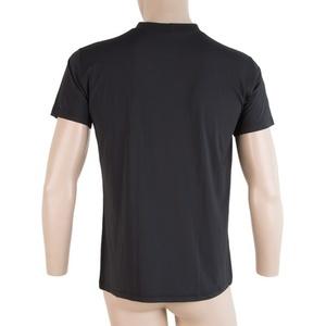 moški majica Sensor COOLMAX FRESH PT HAND črna 17100014