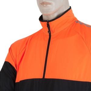 moški jakna Sensor NEON črna / oranžna refleks 17100114, Sensor