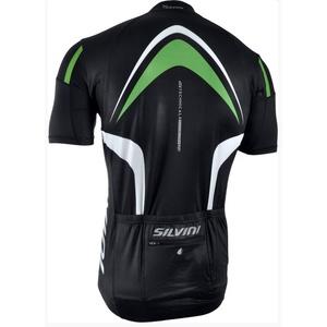 moški kolesarjenje majica Silvini Lemmy MD603 črno-gozd, Silvini