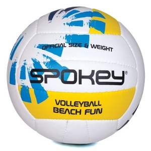 odbojka žoga Spokey BEACH FUN modro-bela č.5, Spokey