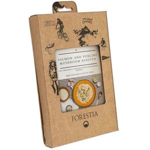hrana Forestia rižota z lososa in gobe prašiči (z grelec), Forestia