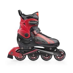 rolerji skate Spokey RENO črno-rdeča, Spokey