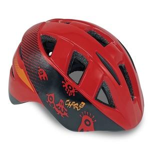 Otroci kolesarji čelada Spokey CHERUB rdeča, 48-54 cm, Spokey