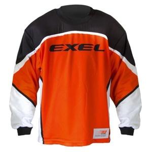 Golmanski majica EXEL S60 Vratar JERSEY višji oranžno / črna, Exel
