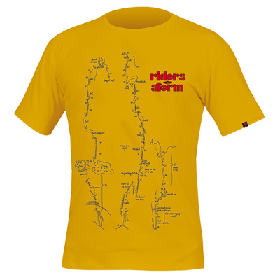 majica Direct Alpine Flash kamel / bencin (kolesarji), Direct Alpine