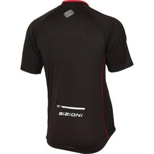 ciklo majica Lasting MD73 črno-rdeča, Lasting