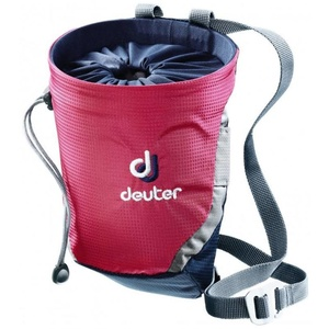 torba na magnezij Deuter Gravity Chalk Bag II Magenta-mornarica, Deuter