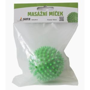 masaža žoga Yate 70 mm zelena, Yate