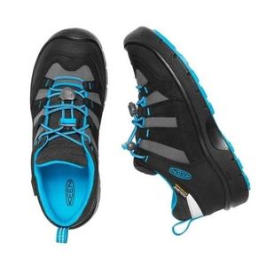Otroci čevlji Keen Hikeport WP jr, črna / modra dragulj, Keen