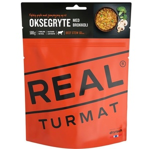 Real Turmat Losos z testenine v smetana omaka, 129g, Real Turmat