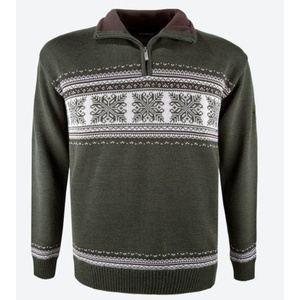 pulover Kama L139 106 temno zelena, Kama
