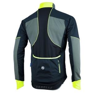 moški softshell jakna Rogelli TRANI 4.0, 003.121. črno-odsevni oranžna, Rogelli