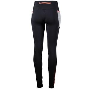 ženske tek na smučeh hlače Rogelli Dinamično, 840.781. črna in siva odsevna roza, Rogelli