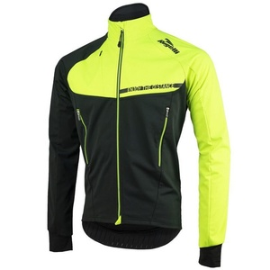 moški softshell jakna Rogelli Contento, 003.140 črna odsevna oranžna, Rogelli