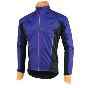 moški softshell jakna Rogelli Contento, 003.141 modro-črno-oranžna, Rogelli