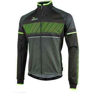 moški softshell jakna Rogelli Ritmo, 003.256. črno-zelena, Rogelli