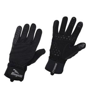 moški kolesarjenje rokavice Rogelli Storm, 006.124. črna, Rogelli