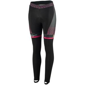 ženske kolesarjenje hlače Rogelli Bella, 010.253. črni in roza, Rogelli