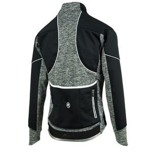 dame kolesarji jakna Rogelli Carlyn 2.0, 010.307. črna in siva, Rogelli