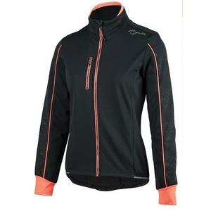 dame kolesarji jakna Rogelli Camilla 3.0, 010.308. črno-roza, Rogelli