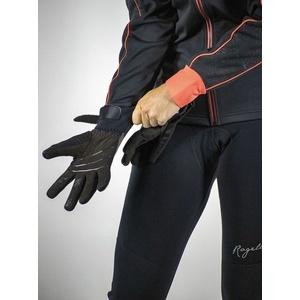 ženske kolesarjenje rokavice Rogelli Flash, 010.660. črna, Rogelli