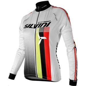 ženski kolesarjenje majica Silvini TEAM WD834 bela, Silvini