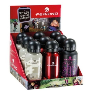 Otroci steklenica Ferrino Grind Kid črna, Ferrino